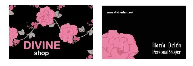 Tarjetas Divine Shop
