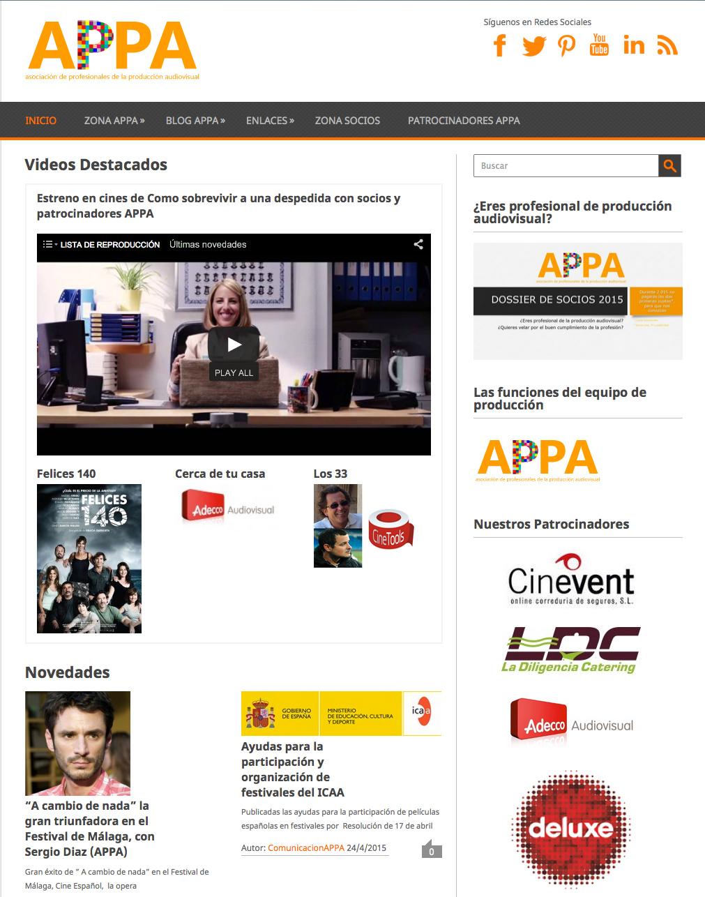 Portal Audiovisual de APPA