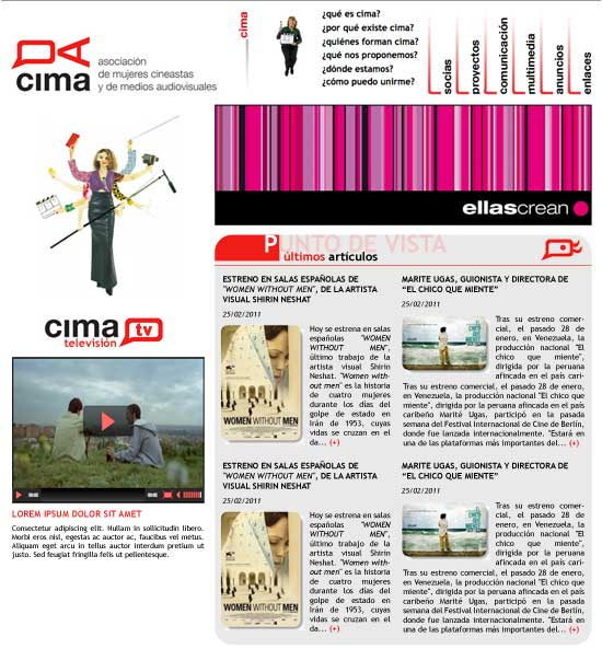 pagina CIMA