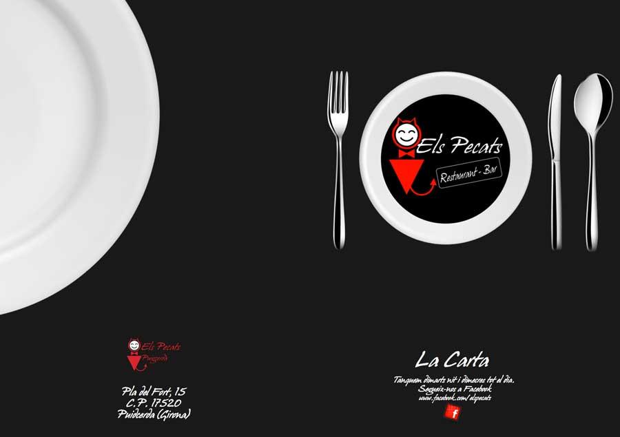 Carta Restaurante El Pecats