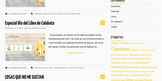 editorial inkme web