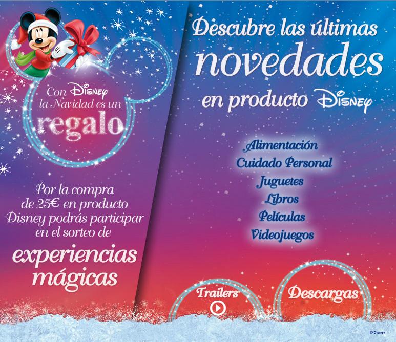 Microsite Disney Navidad