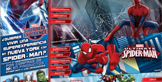 Microsite spiderman
