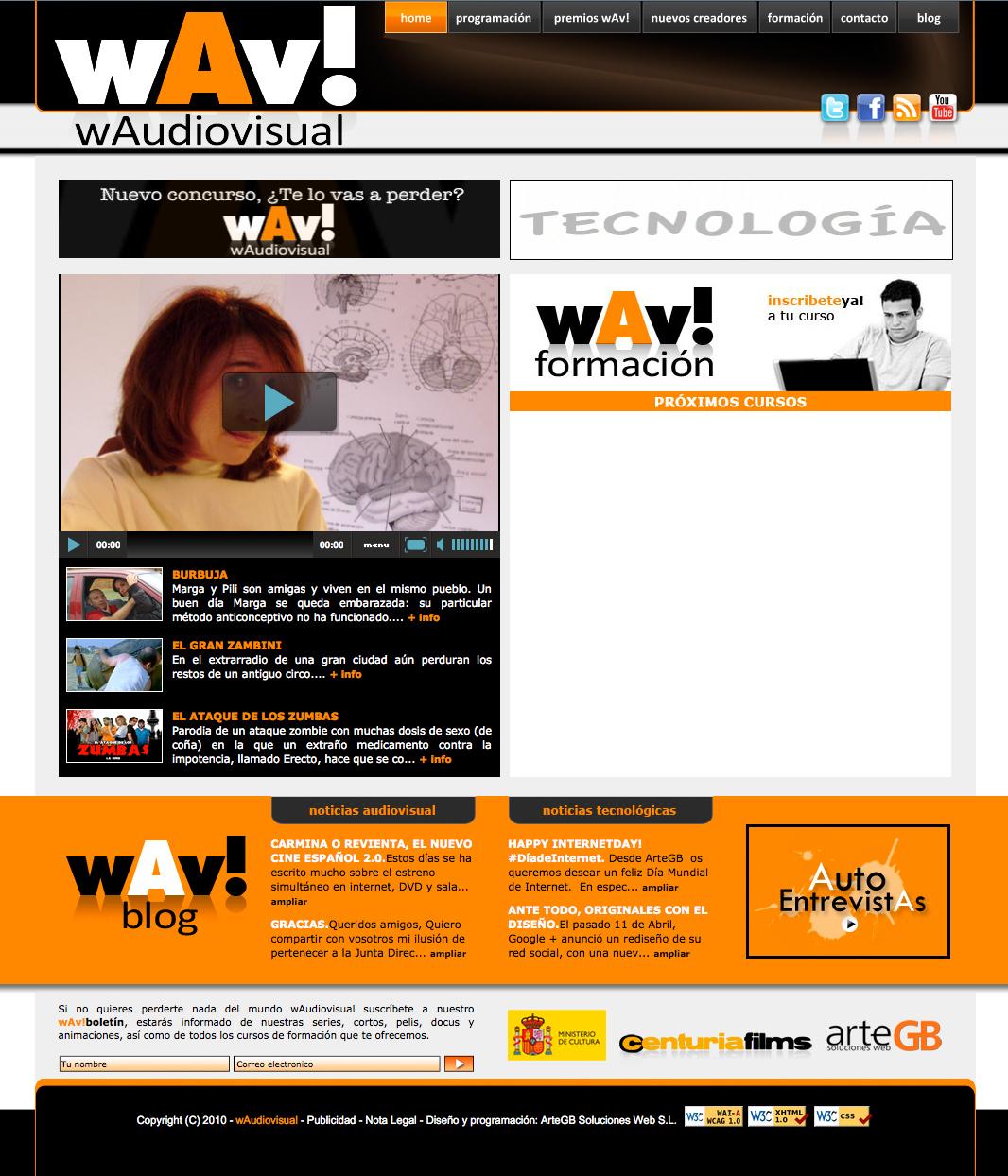 Portal wAudiovisual