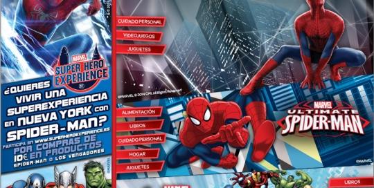 Microsite spiderman